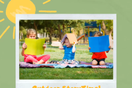 StoryTime – Outdoor and Online!