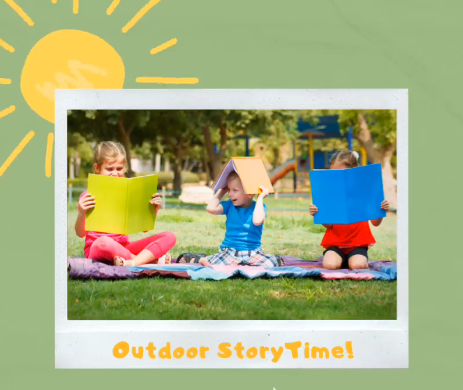 Outdoor StoryTime graphic