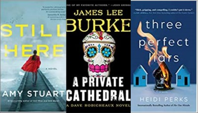 New books: Still here, A Private Cathedral, Three perfect liars
