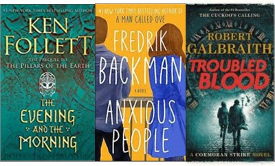 New books: The evening and the morning; Anxious people; Troubled blood