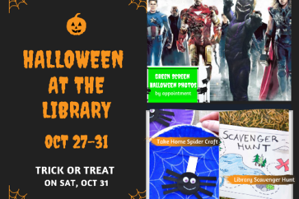 Halloween fun! Oct 27 – 31