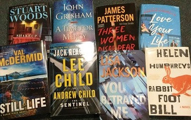 New Thrillers!