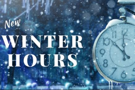 Winter Open Hours