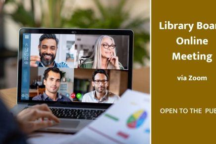 Library Board Meeting – Nov12