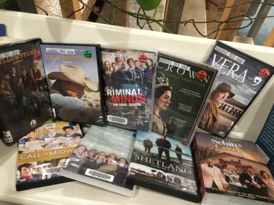 picture of new DVDs added Dec 16