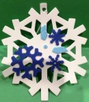 picture of snowflake craft