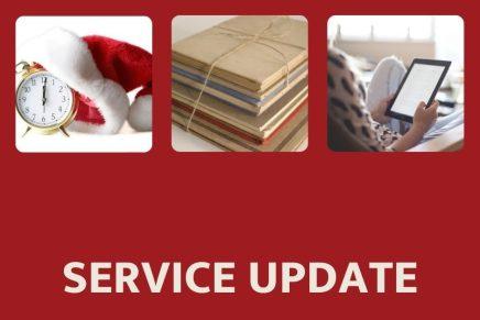 Service Update!