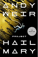 Book cover: Project Hail Mary
