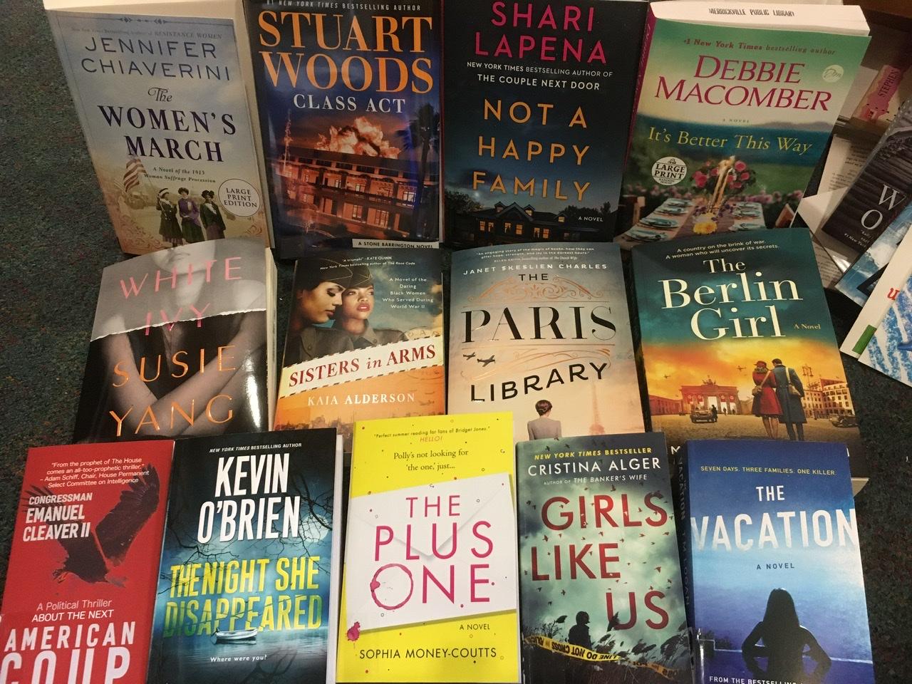 photo of new books